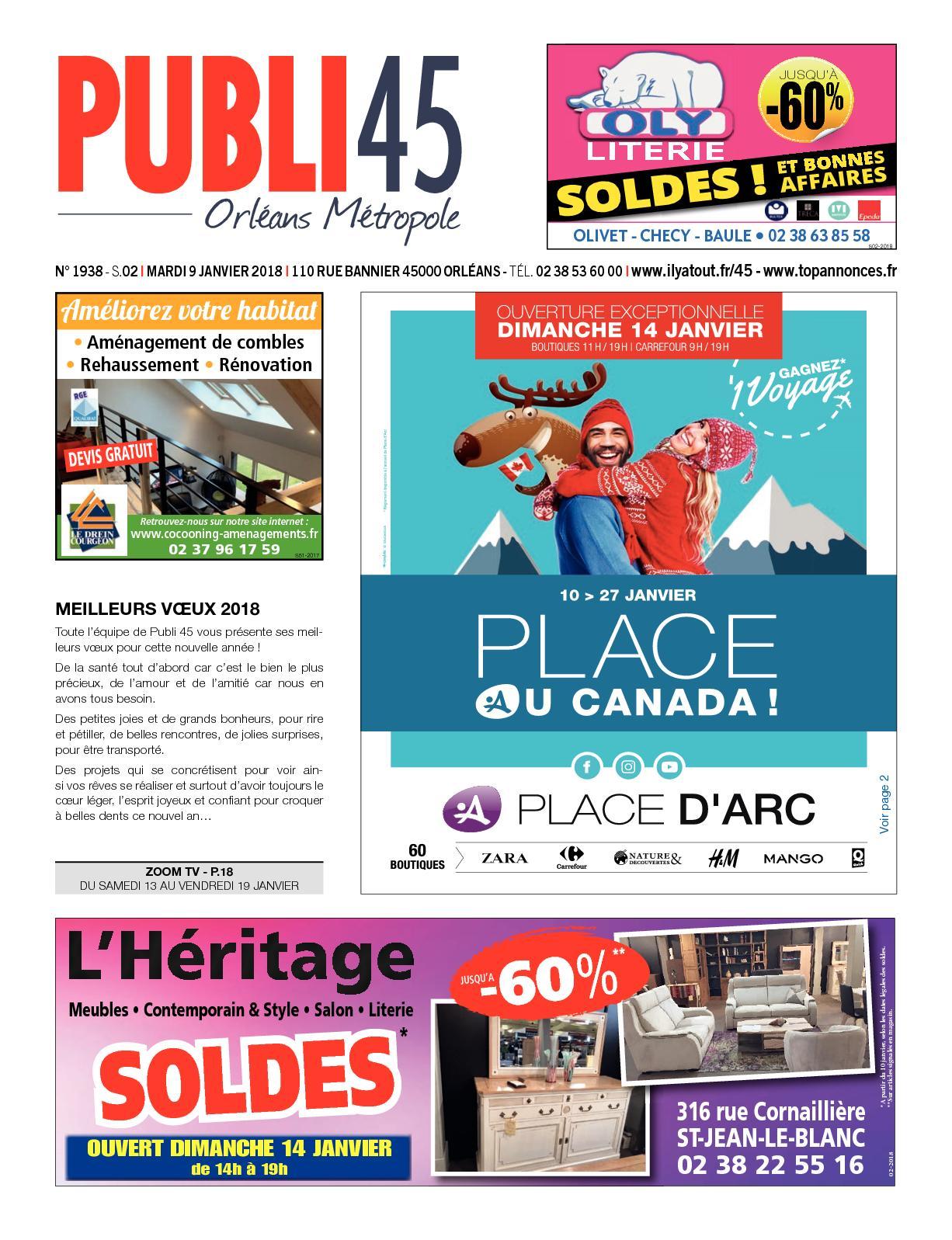 Envia Cuisine Fleury Les Aubrais calaméo - publi 45 022018