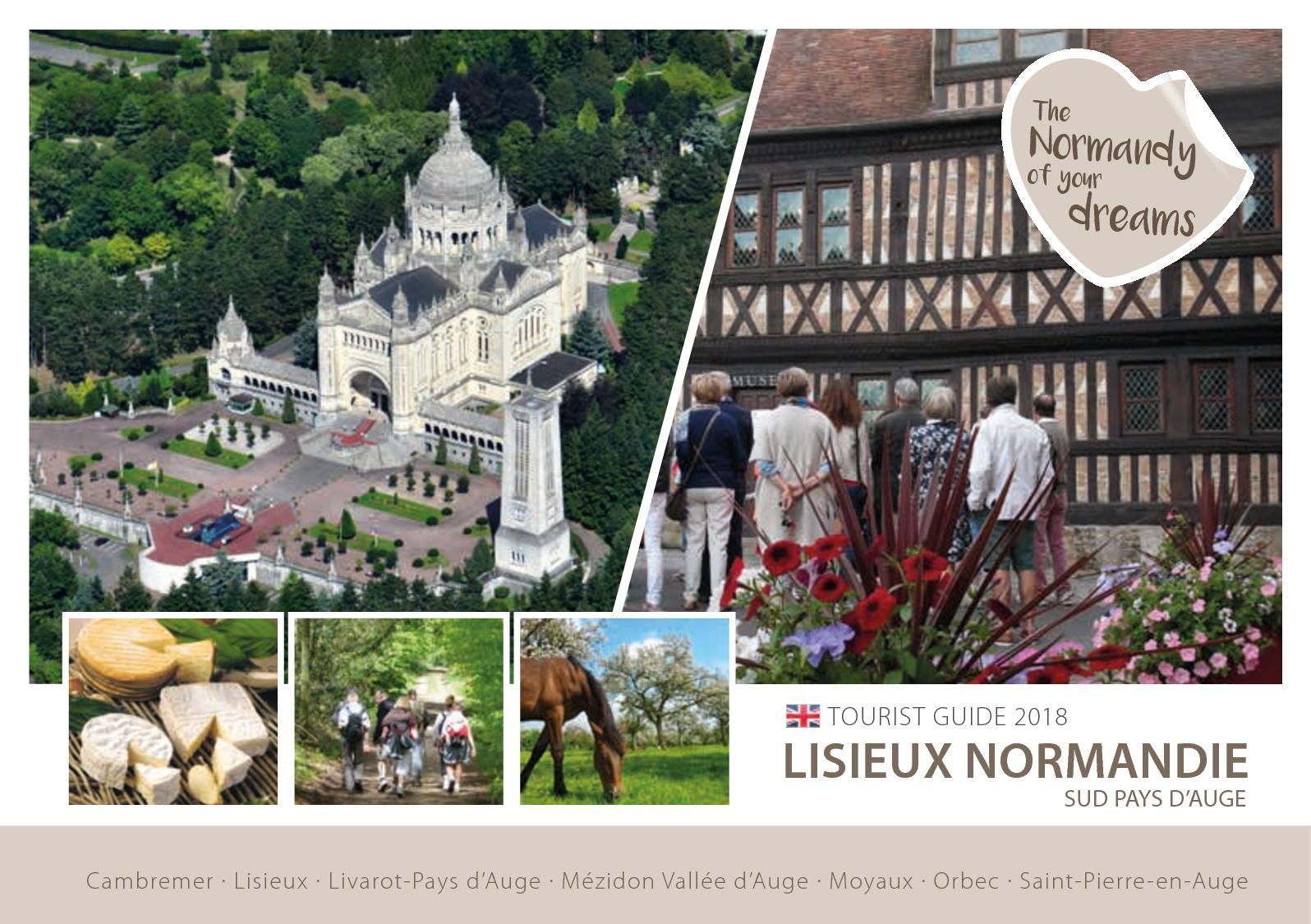 Calaméo Gb Tourist Guide 2018 Lisieux Normandie