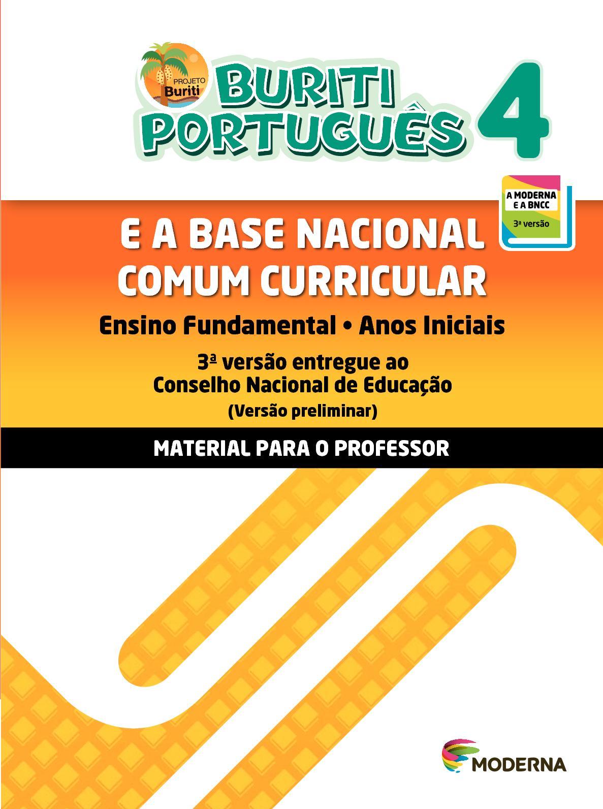 BNCC   Projeto Buriti Português 4