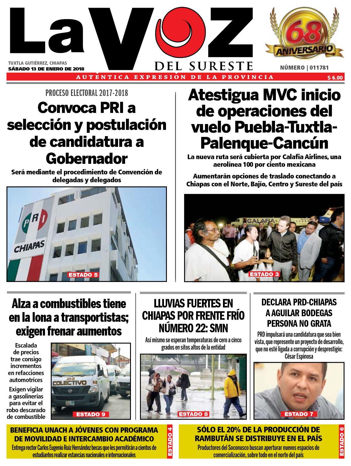 15d04f6ed Calaméo - Diario La Voz del Sureste