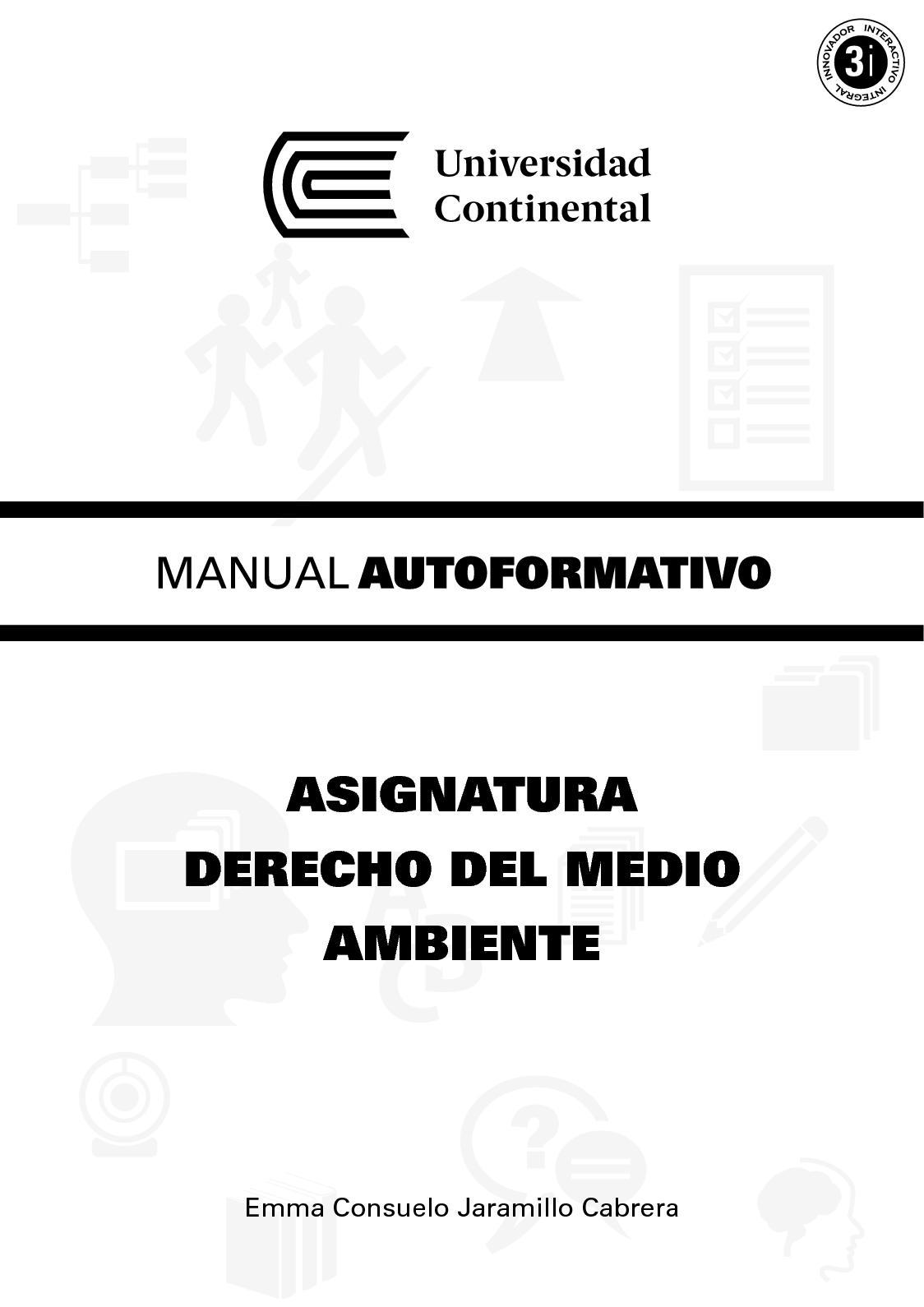 MANUAL Derecho Del Medio Ambiente A0113 2017