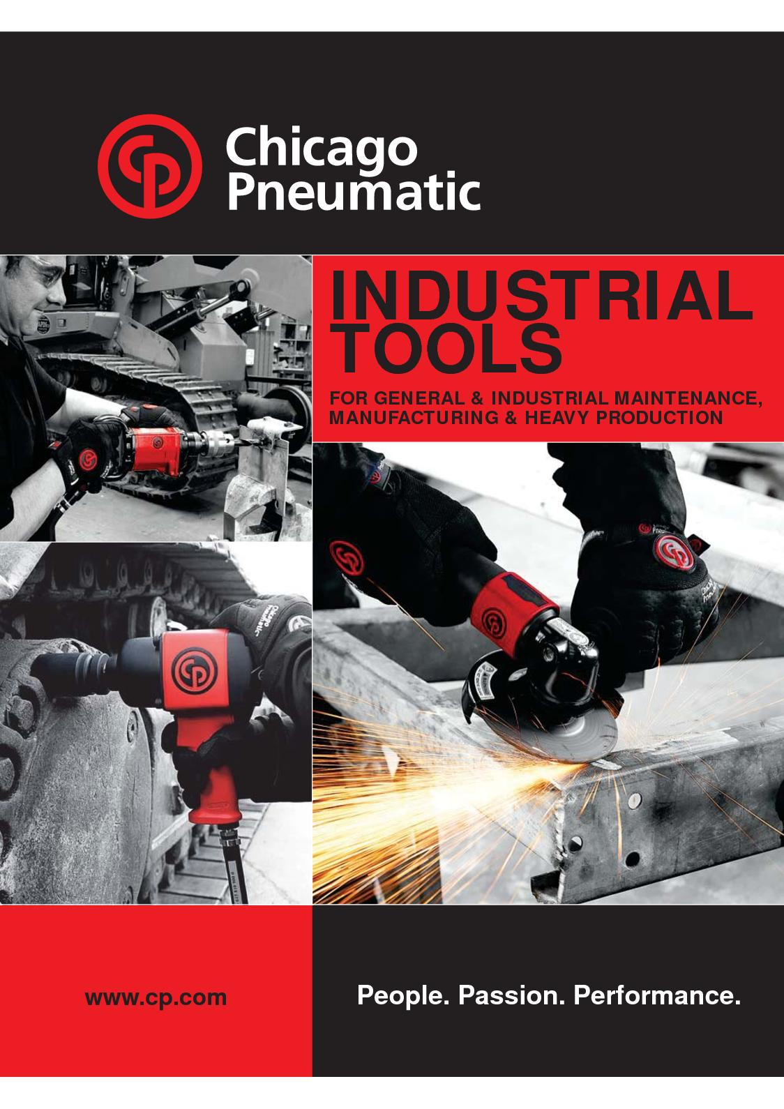 Chicago Pneumatic 874 High-Speed Cutting Tool
