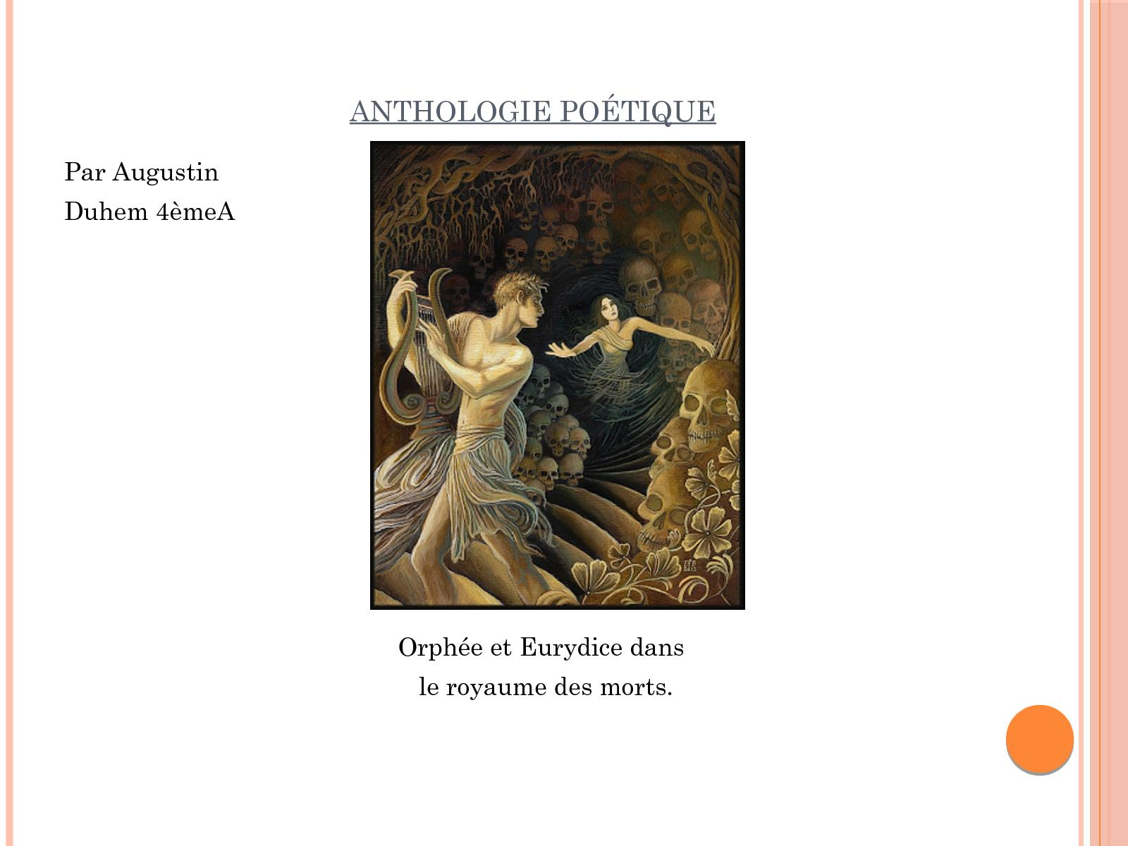 Calaméo Anthologie Poétique Sur Lamour