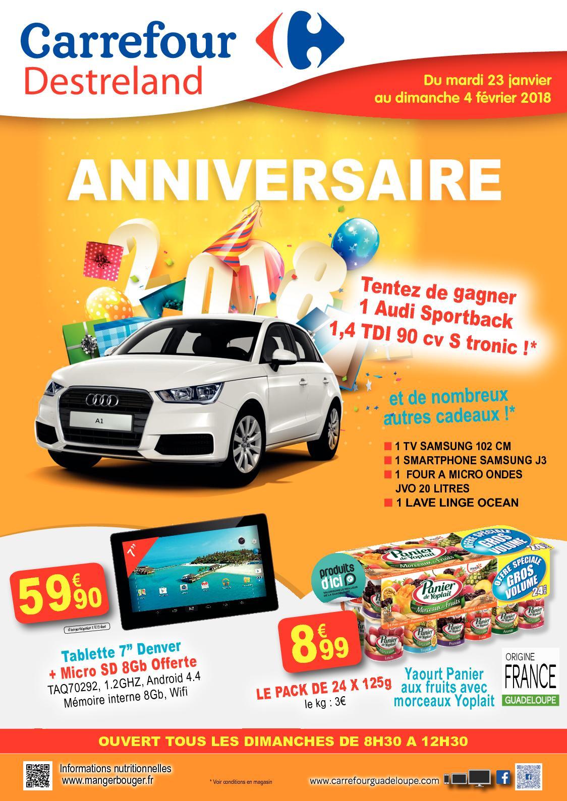 Calaméo Carrefour Destreland Guadeloupe Anniversaire 0118