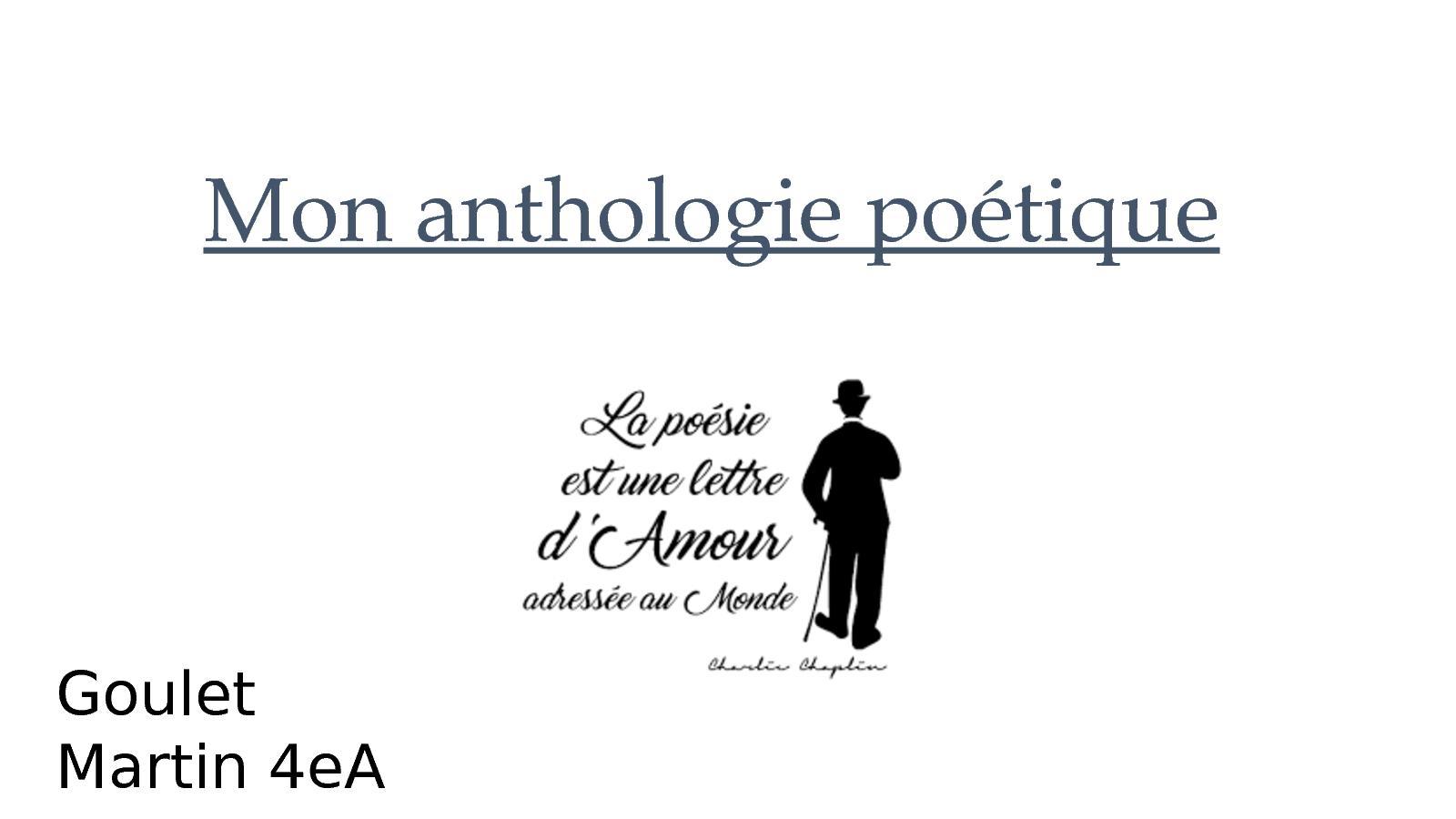 Calaméo Mon Anthologie Sur La Poésie Lyrique