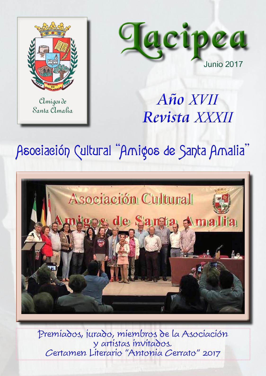 Calaméo - Lacipea Junio de 2017. Revista de Santa Amalia db133c646dd1