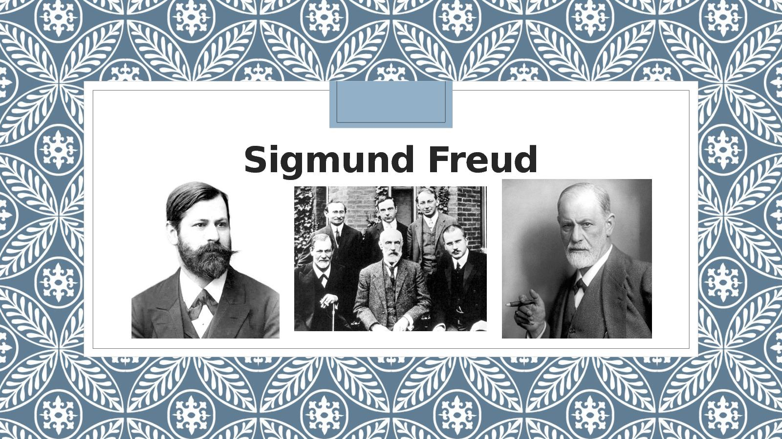an analysis of the theories of sigmund freud in the yellow wallpaper Sigmund freud's psychosexual  documents similar to theories of development cheat sheet child development  the yellow wallpaper uploaded by harie abangan.