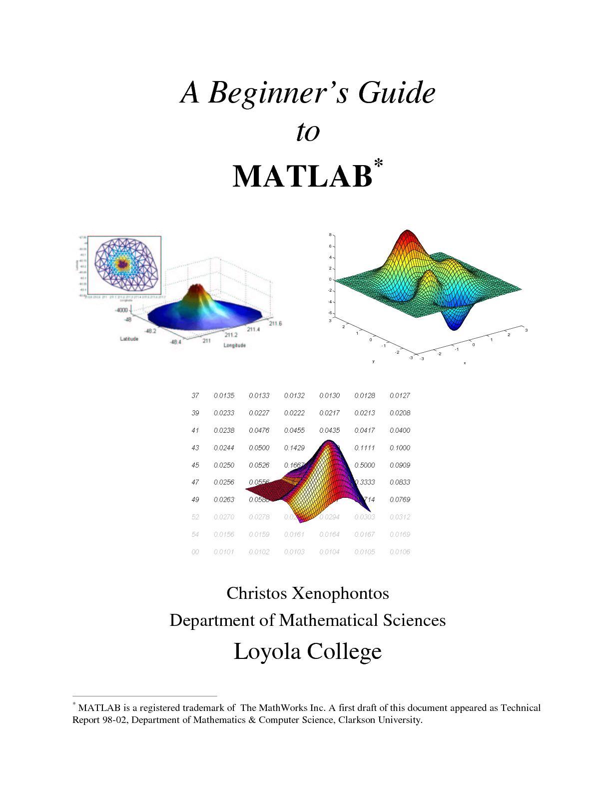 Calaméo - Matlab Guide