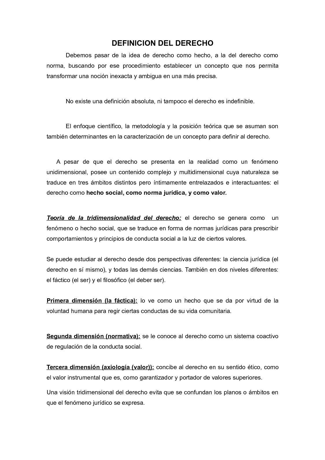 Calaméo Definicion Del Derecho