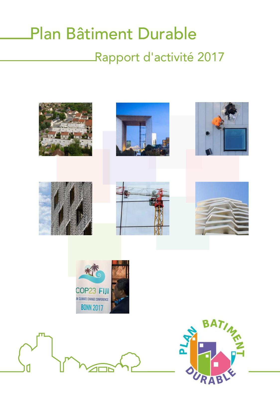 Calaméo - Rapport d activité 2017 - Plan Bâtiment Durable b6615ce0dcb1