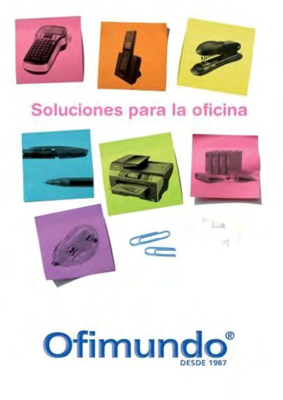 Calaméo - Ofimundo Catálogo General 2018 Parte Nº 1 5d368d7127957