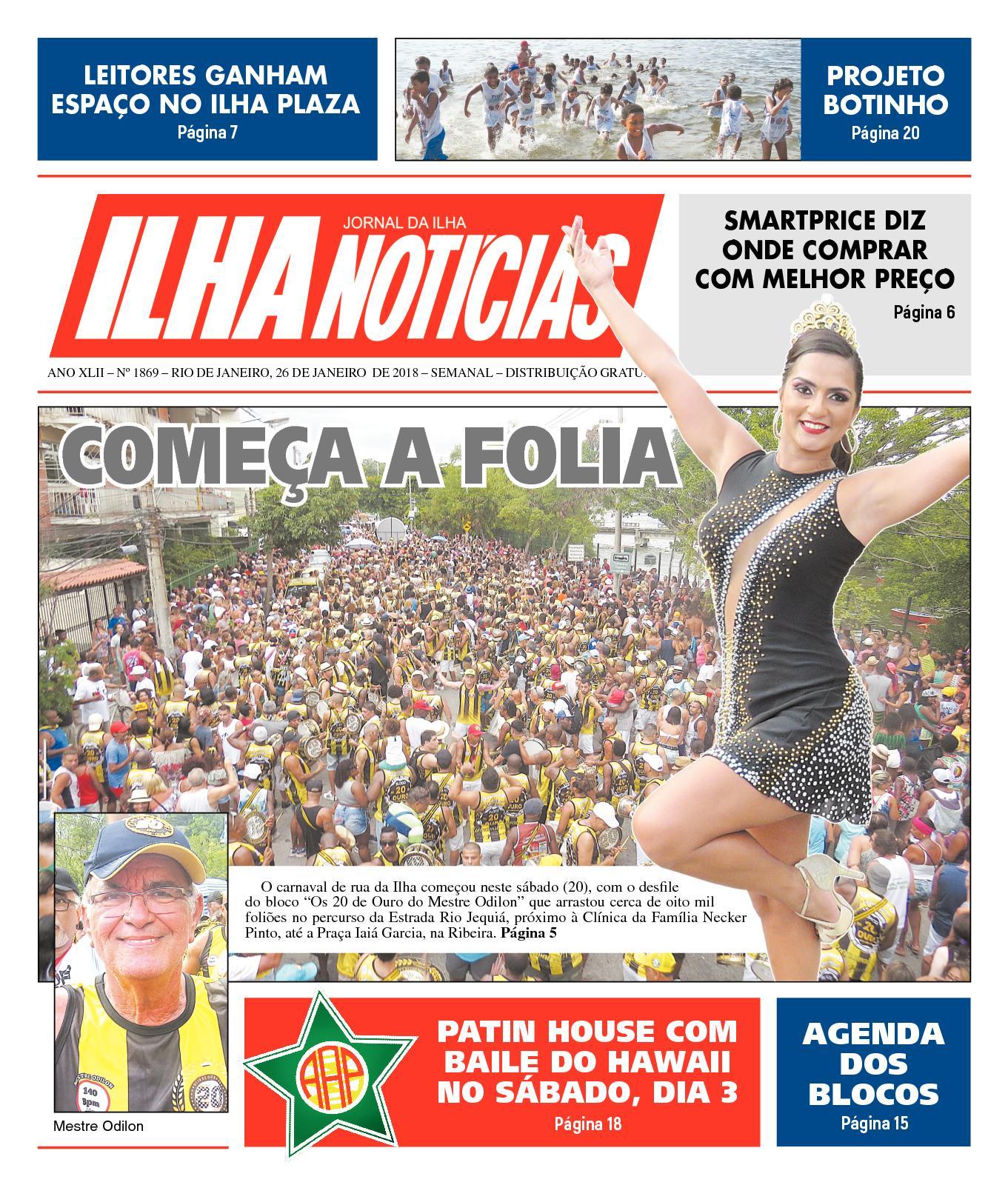 c81a3aaffc Calaméo - Ilha Noticias - Edição 1869 - 26 01 2018
