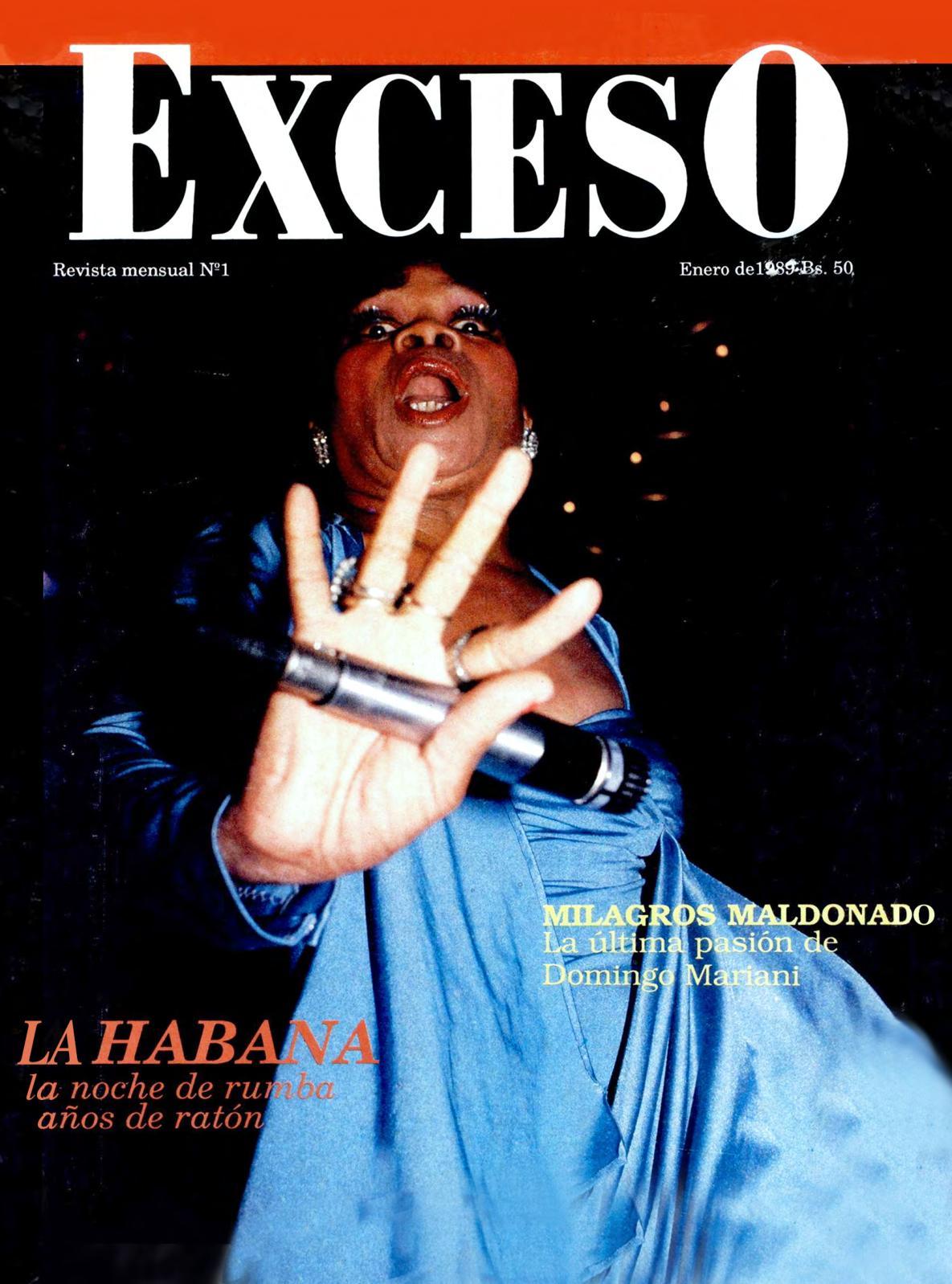 5863434c5 Calaméo - Revista Exceso Edicion Nº 1 Enero 1989