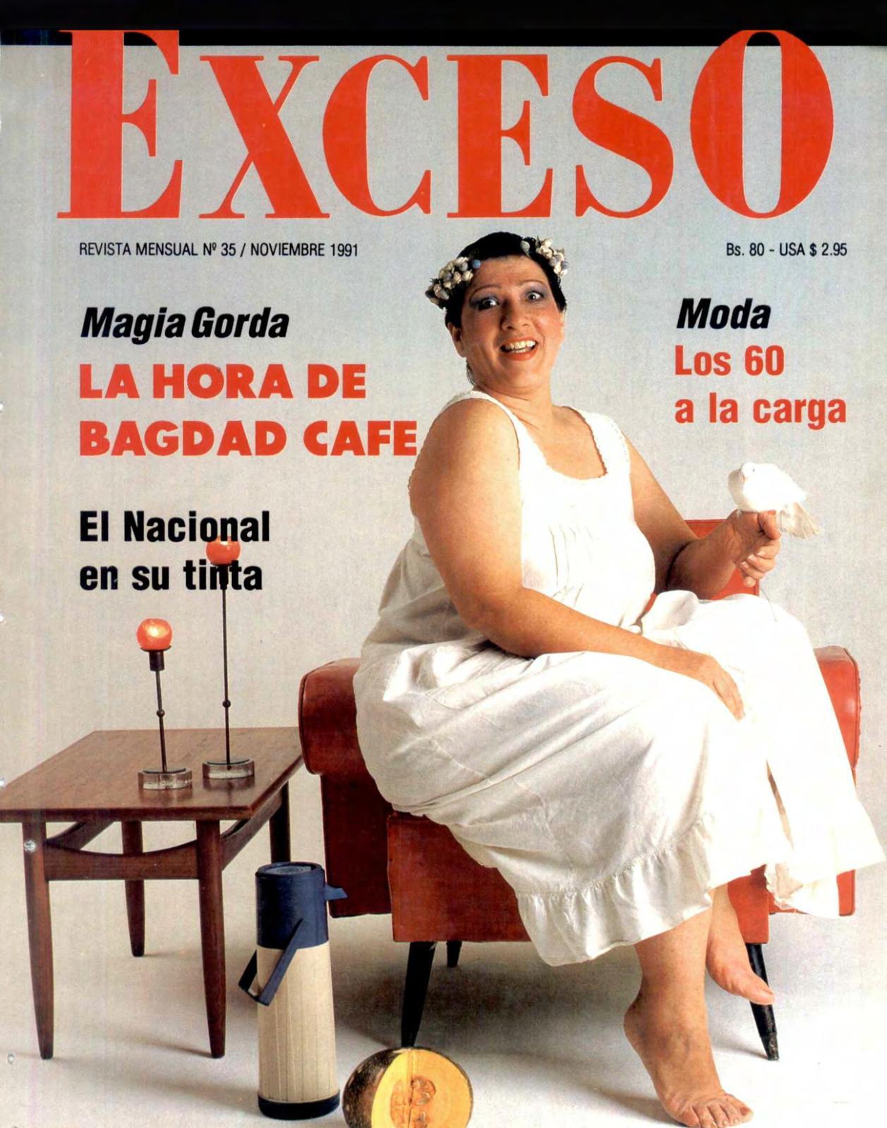 Calameo Revista Exceso Edicion Nº 35 Noviembre 1991