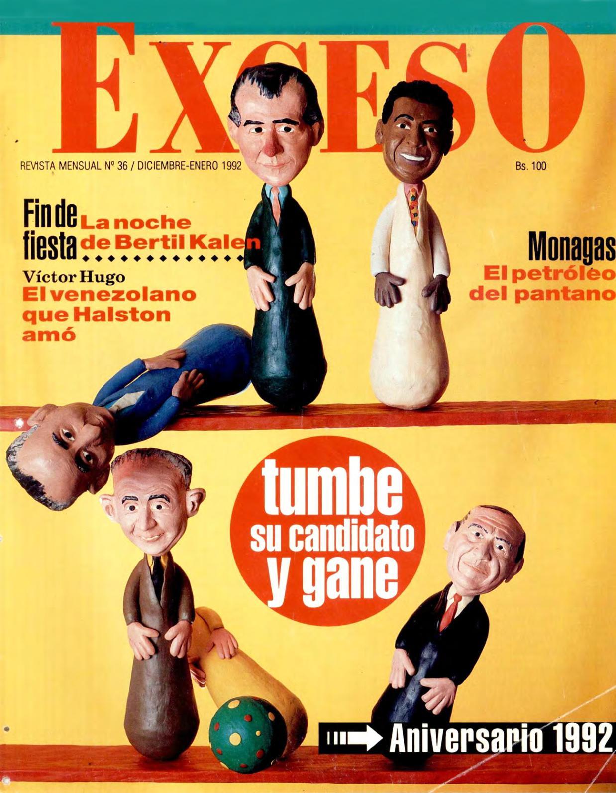 7cf0bac2e Calaméo - REVISTA EXCESO EDICION Nº 36 DICIEMBRE- ENERO 1992