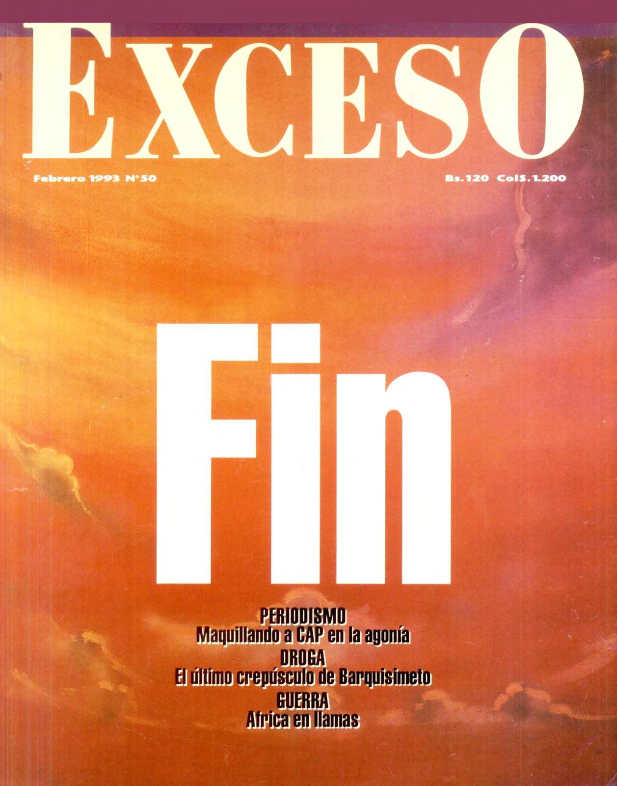 16a9c8a80 Calaméo - REVISTA EXCESO -EDICION Nº 50 FEBRERO 1993
