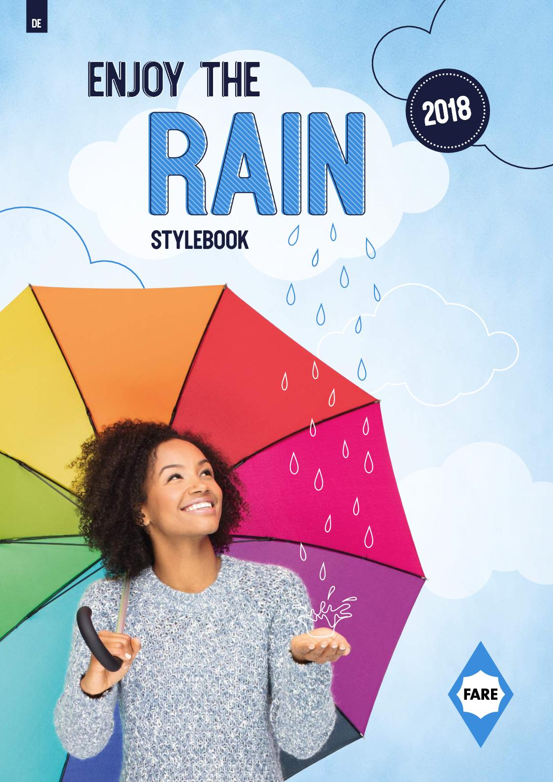 Regenschirm Safebrella-Led Mini Umbrella von Fare # regenschutz regen schirm