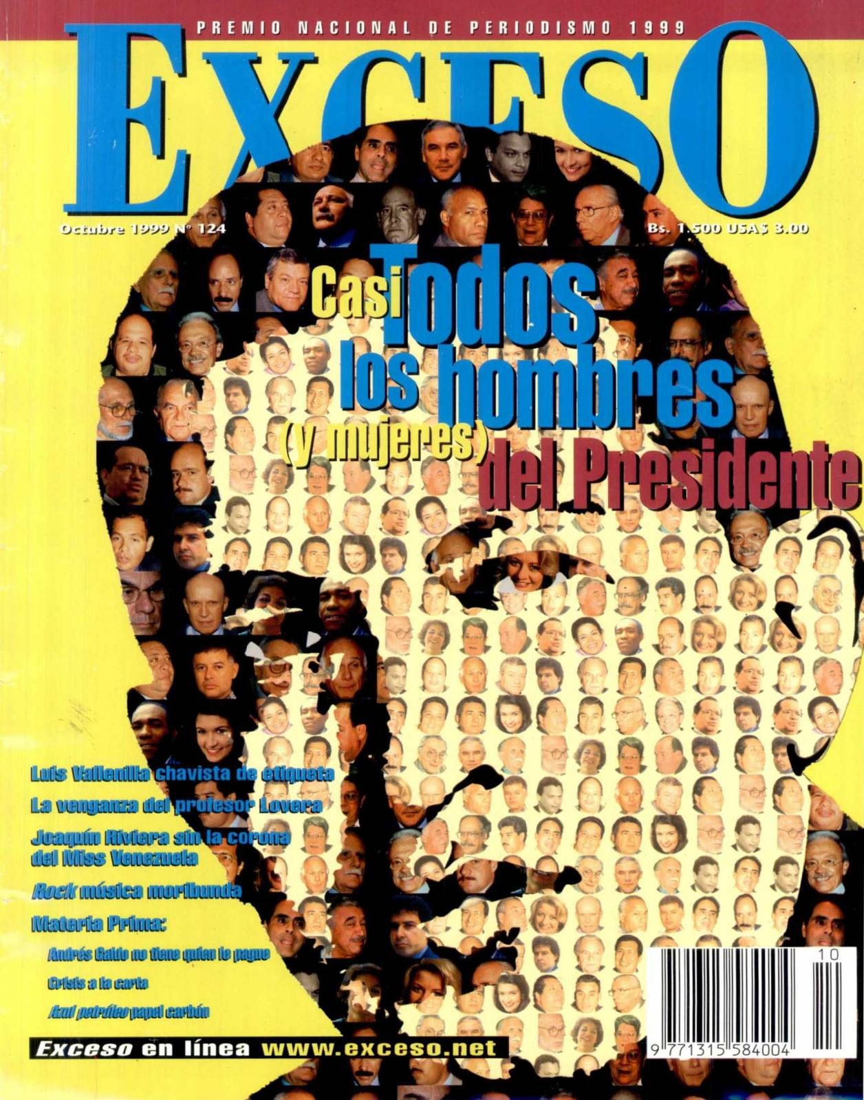 3dfc0500c Calaméo - REVISTA EXCESO EDICIÓN Nº 124 Octubre 1999