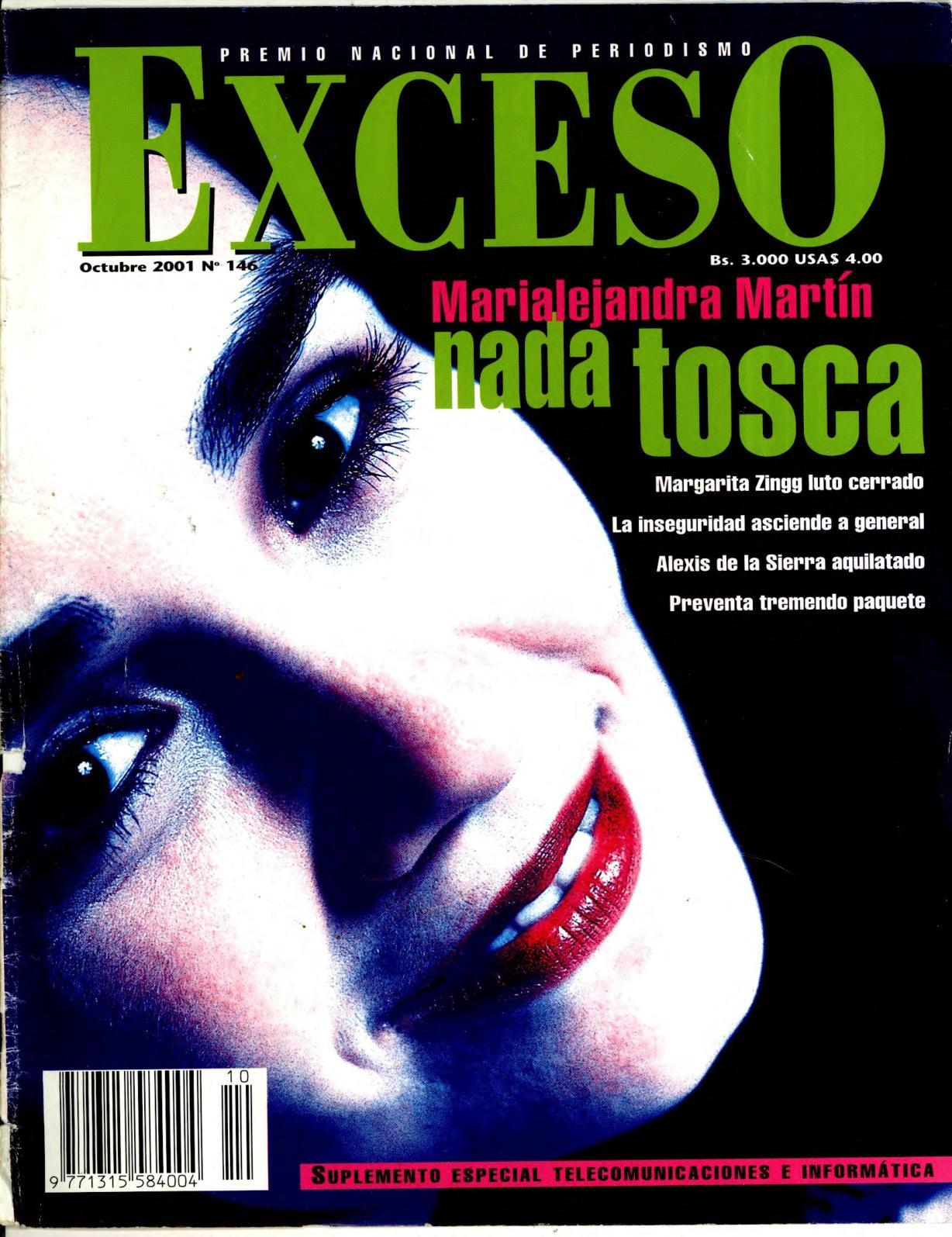 Calaméo Revista Exceso Edición Nº 146 Octubre 2001