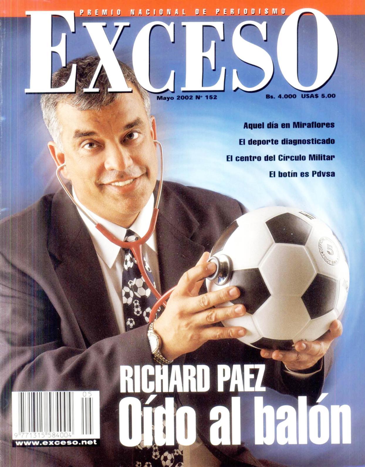 152 Nº Edición Calaméo Mayo 2002 Revista Exceso SzpGLUMqjV