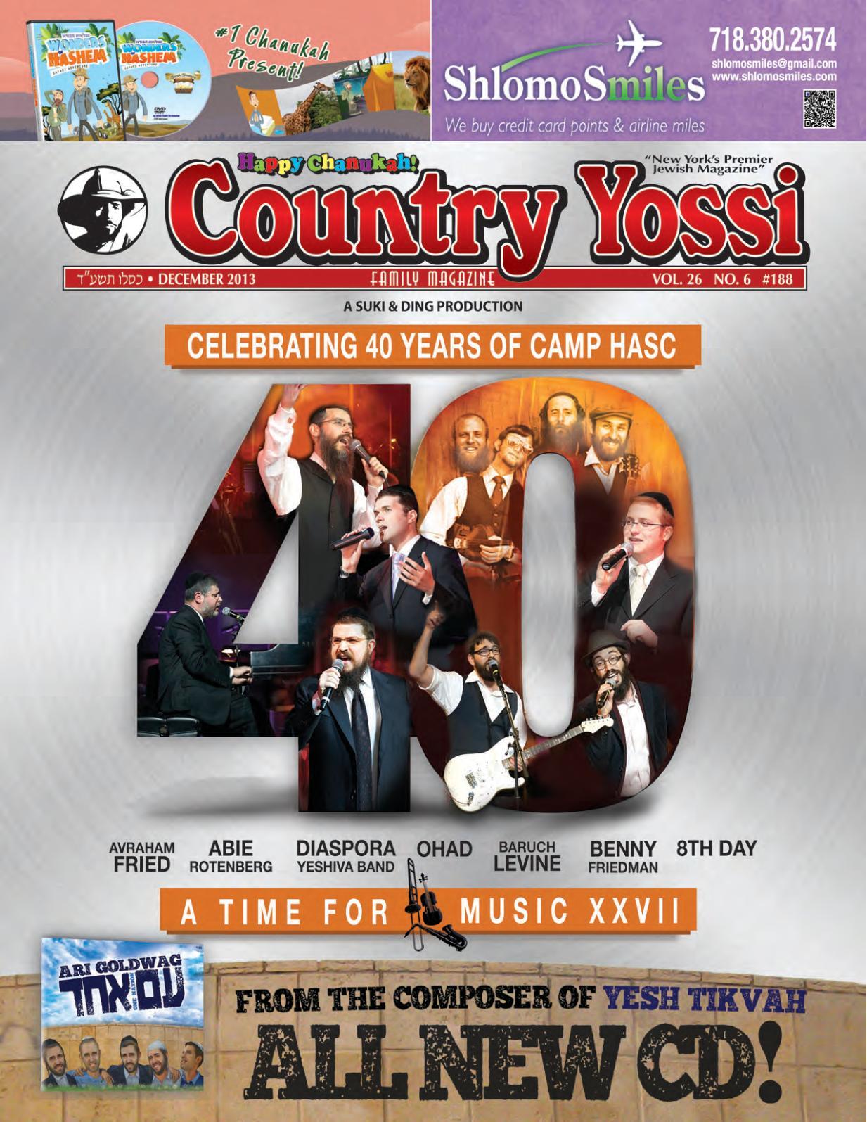Calaméo - Country Yossi Family Magazine #188