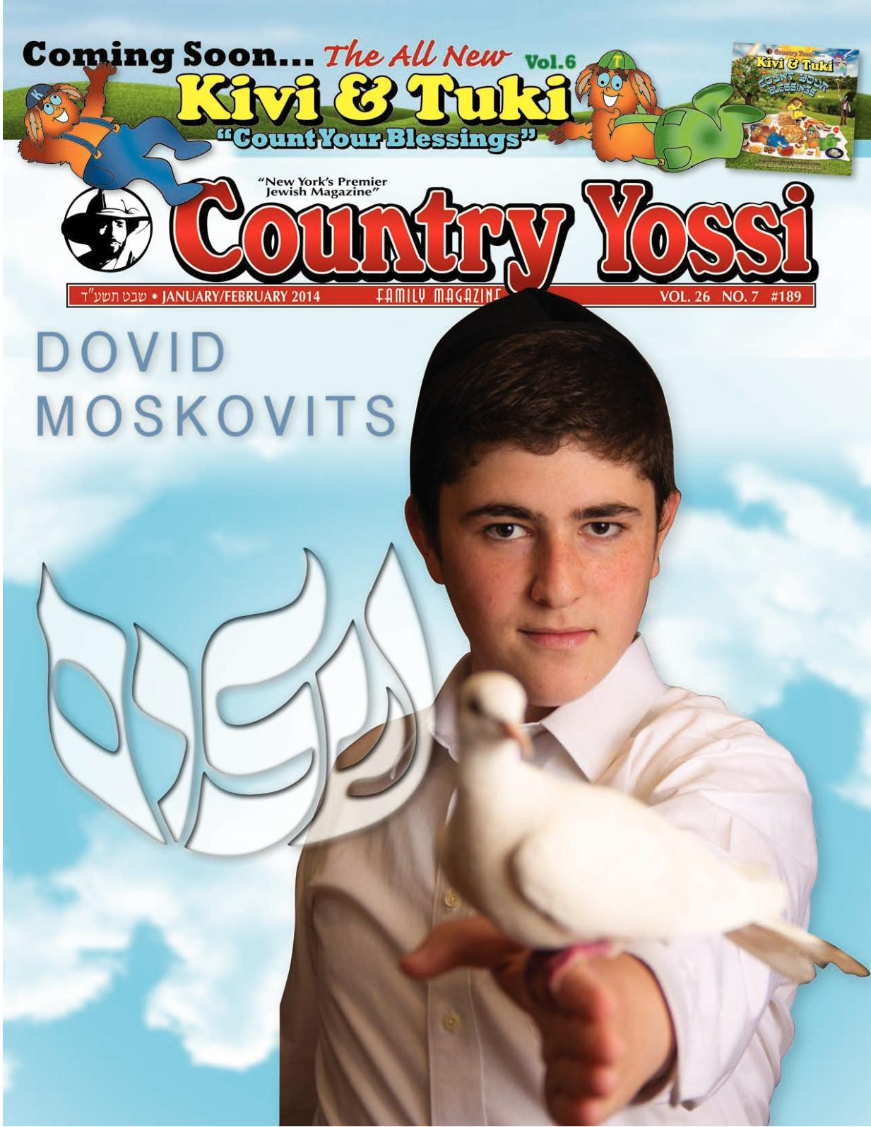 Calaméo - Country Yossi Family Magazine #189