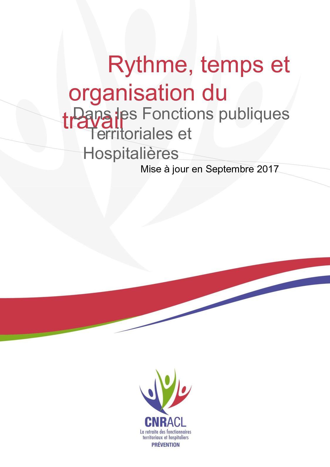 Calameo Rythme Temps Et Organisation Du Travail Dossier