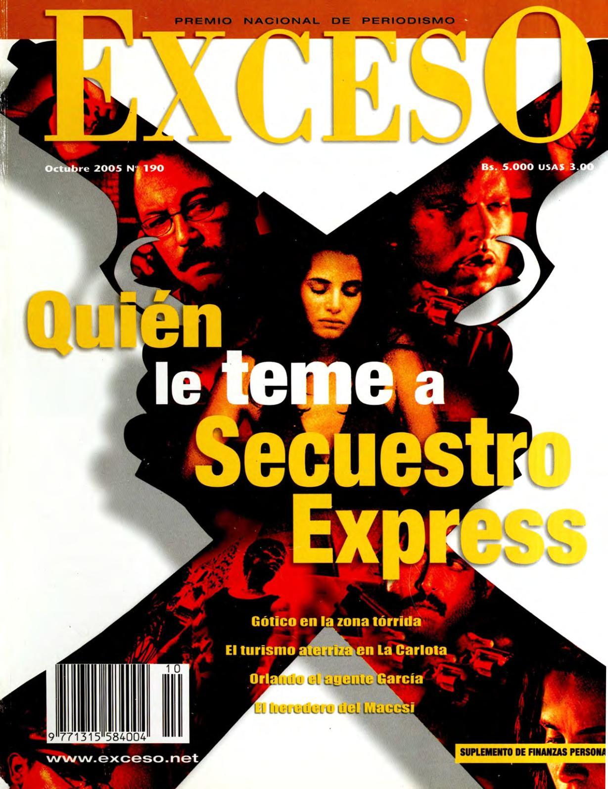 Calaméo - REVISTA EXCESO EDICIÓN Nº 190 OCTUBRE 2005 8640fd41b03b