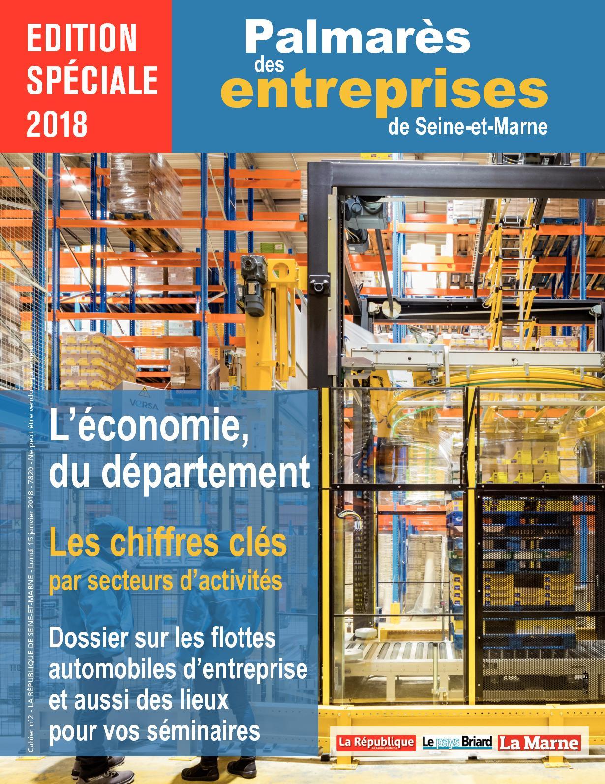 Calaméo Le Palmarès 2018 Des Entreprises Seine Et Marnaises