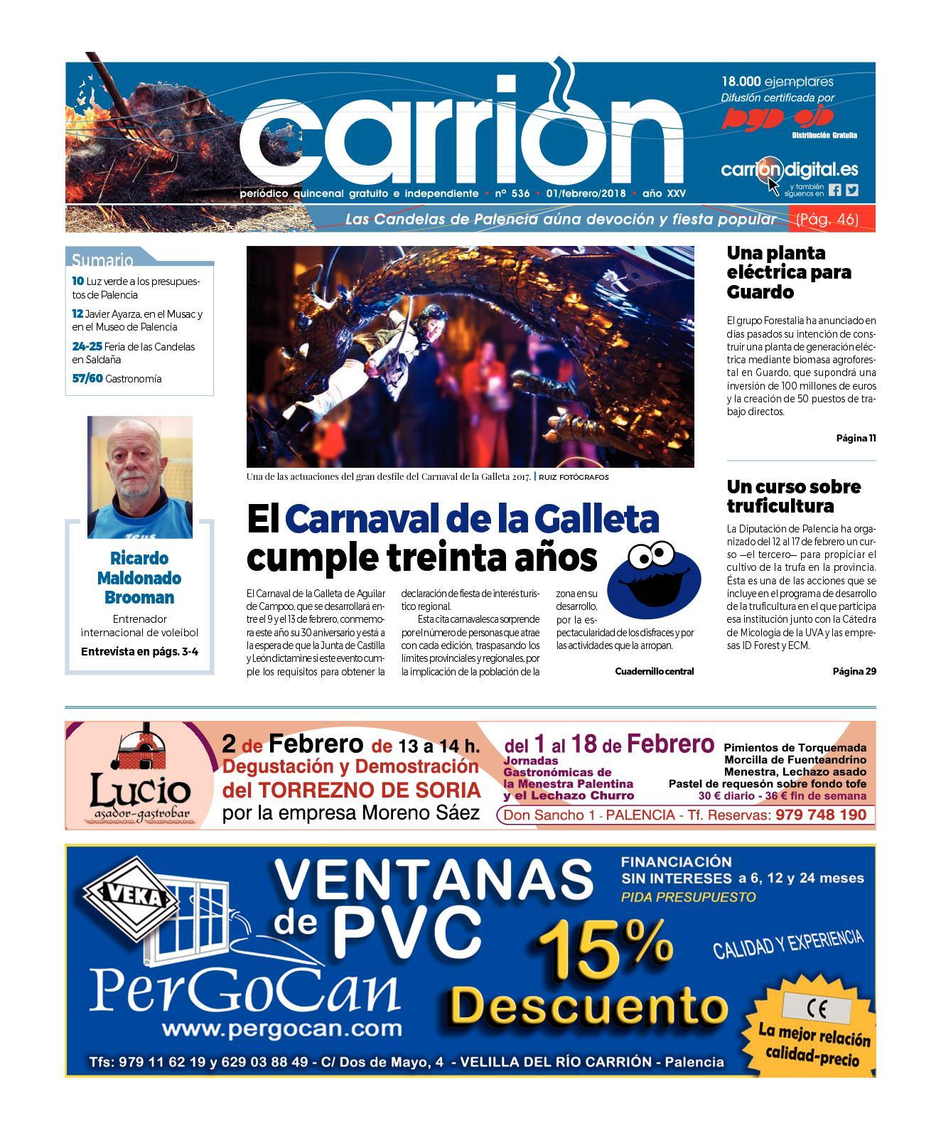 23835a054b Calaméo - CARRIÓN 536
