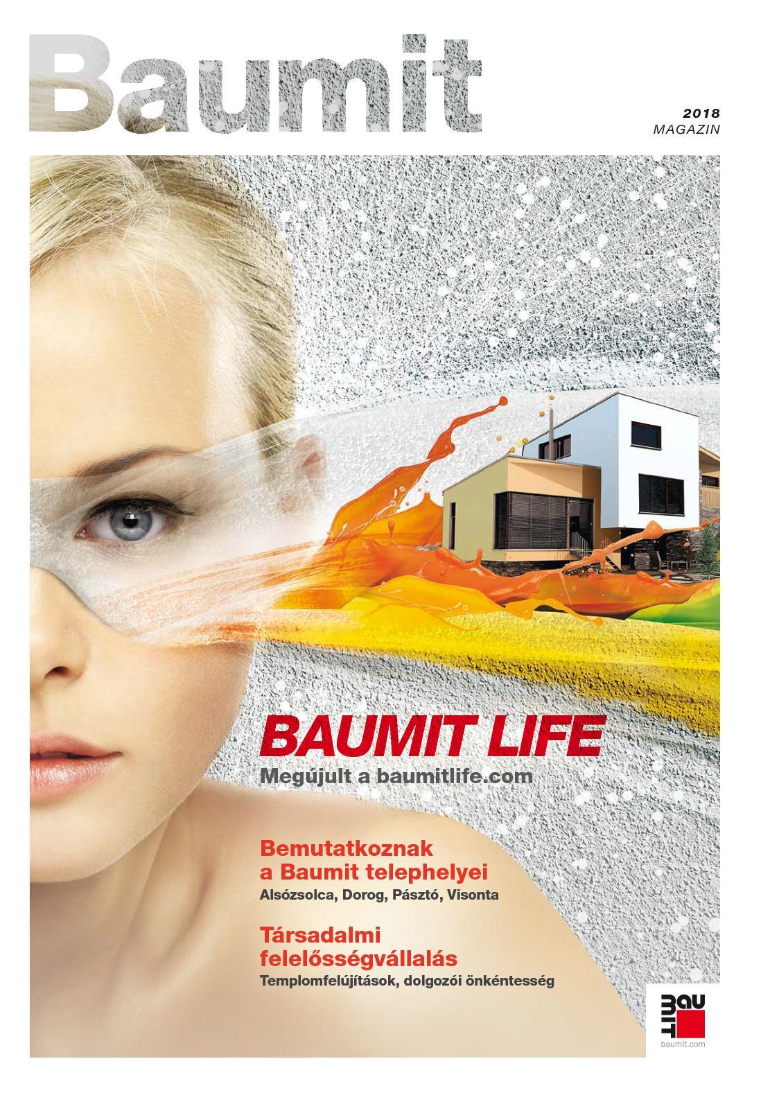 Calaméo - Baumit Magazin 2018 2be66c9e1d