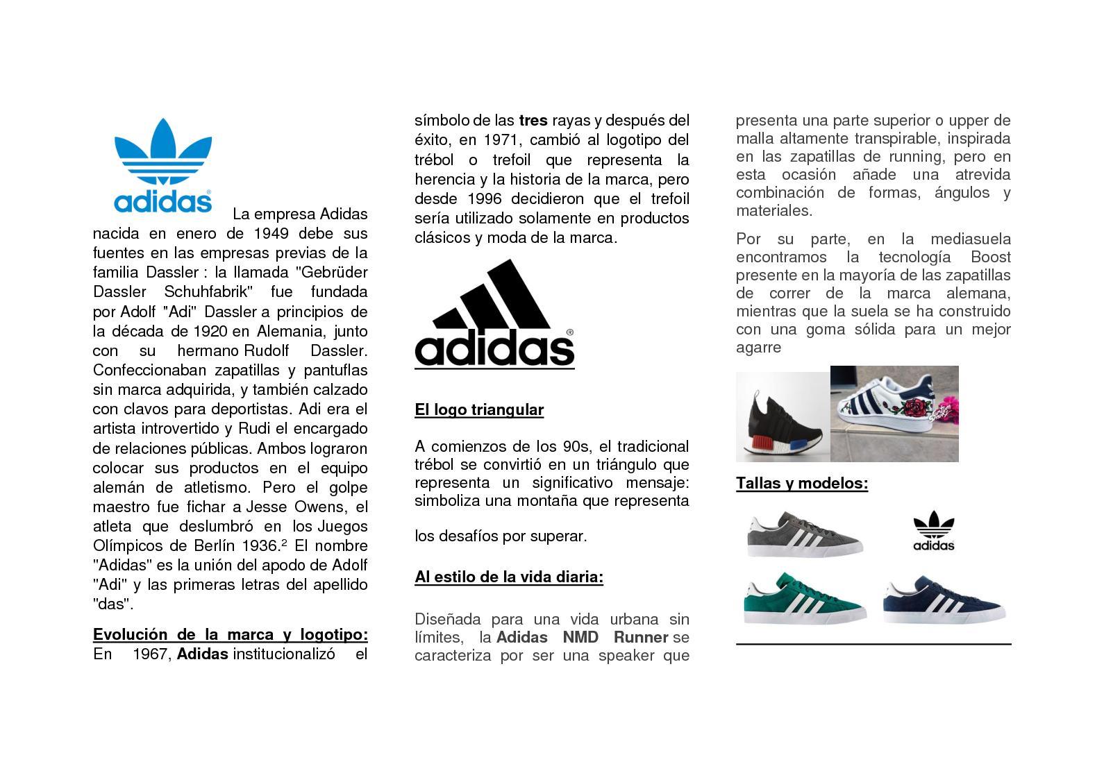 rendimiento superior venta al por mayor Super descuento Calaméo - Adidas