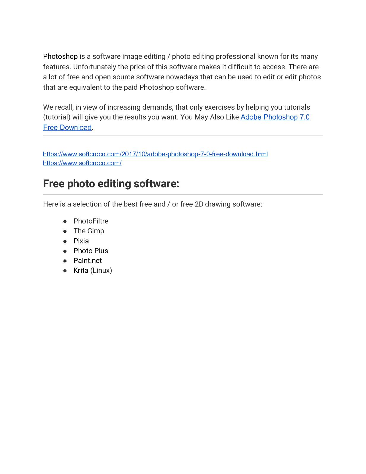 free download adobe photoshop 7.0 for windows 10