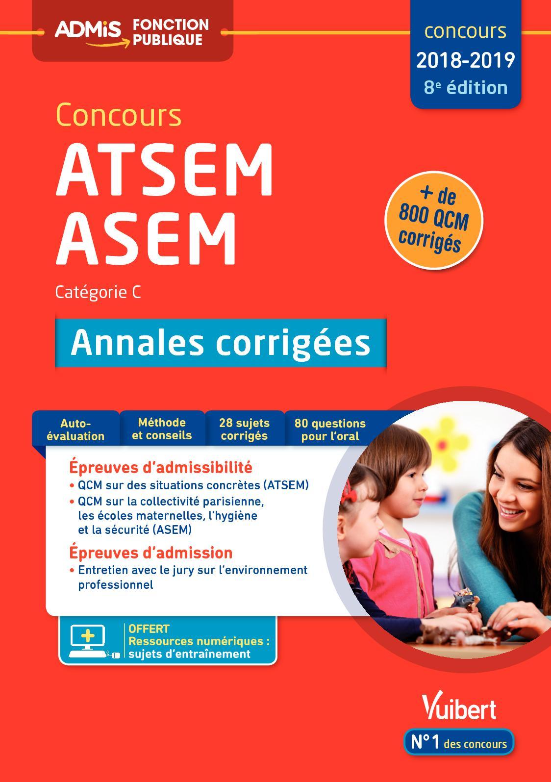 14cdbabf714 Calaméo - Extrait Concours ATSEM ASEM - Annales corrigées