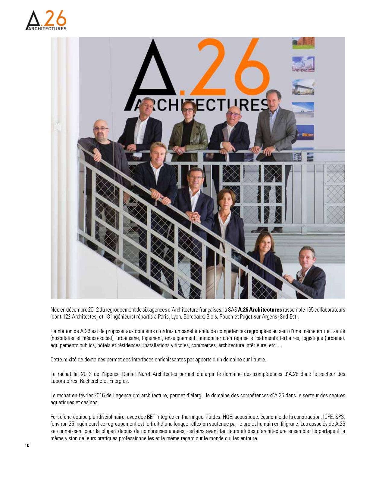 Ordre Des Architectes Amiens architecture hospitalière hors serie n°2 decembre 2017