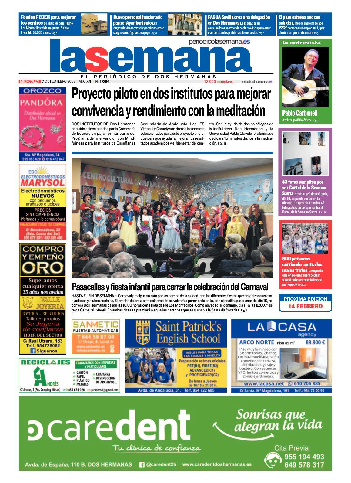 Calaméo - Periodico La Semana 1094 4673594152114