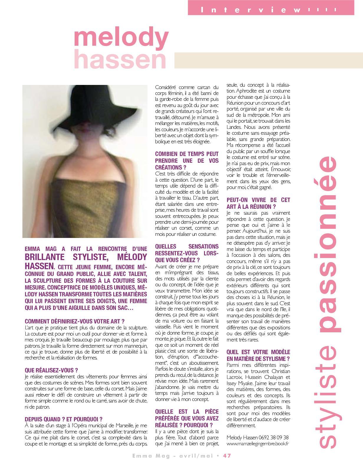 Garde Du Corps Marseille emma mag #22 - calameo downloader