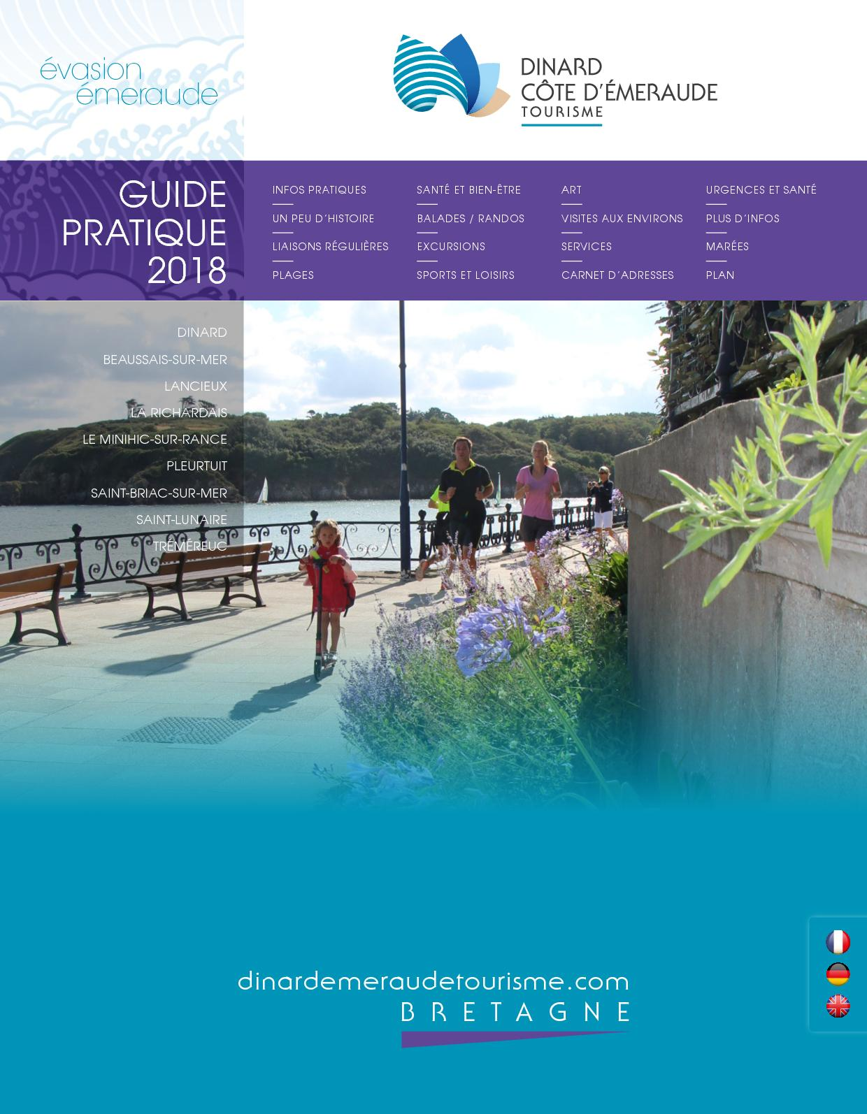 Calaméo 2018 Guide Dinard Pratique Bd IWEDH29