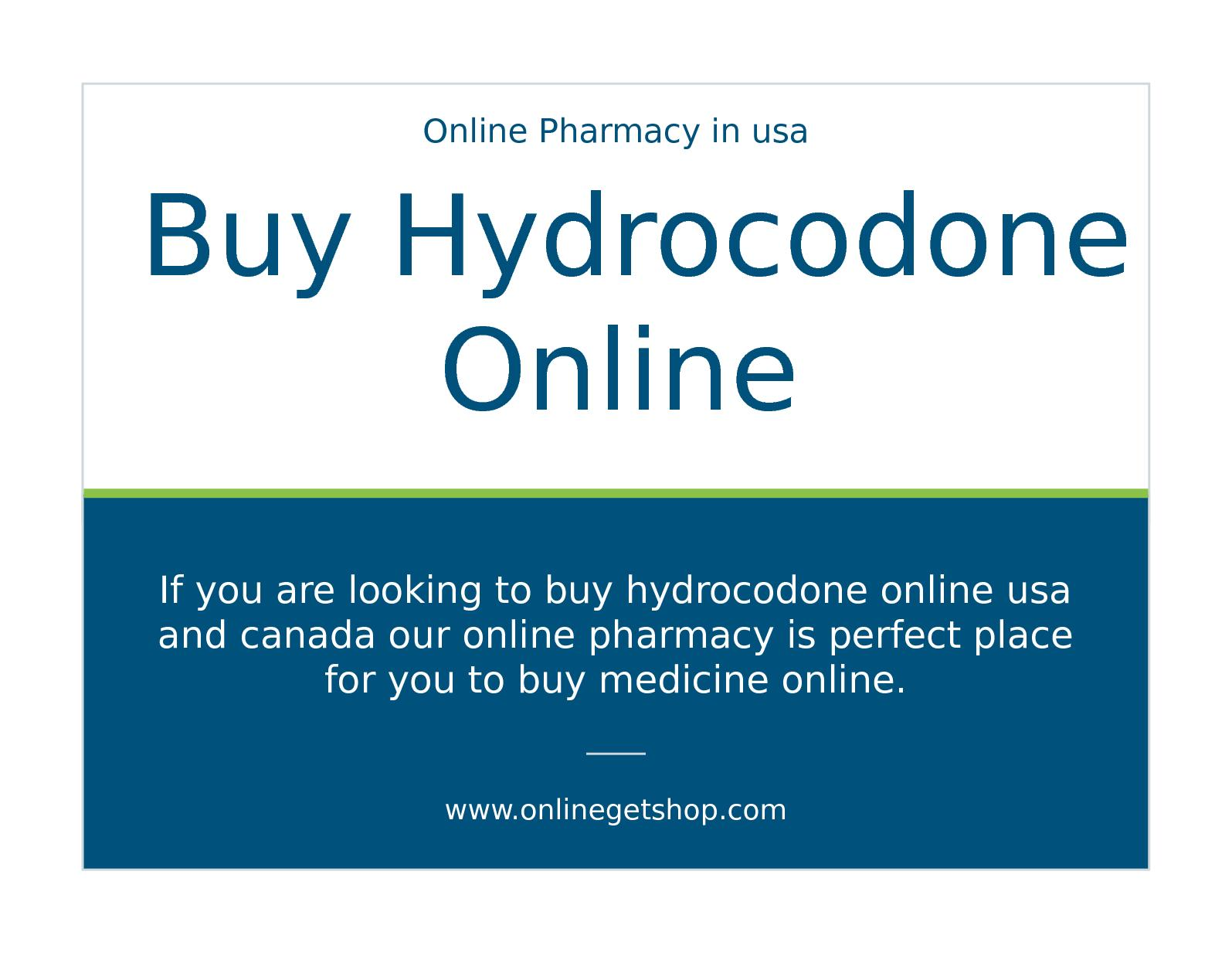 Best place to buy hydrocodone online