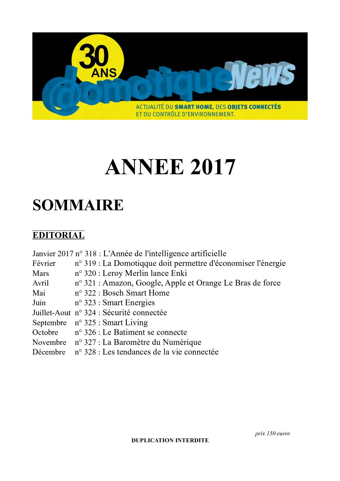 Calaméo Domotiquenews 2017