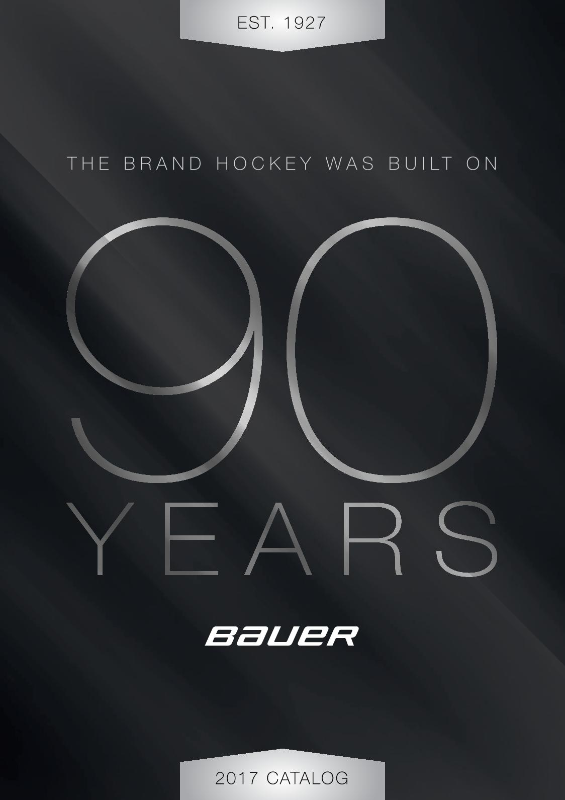 3c6e3aa7616a Calaméo - Bauer Hockey 2017