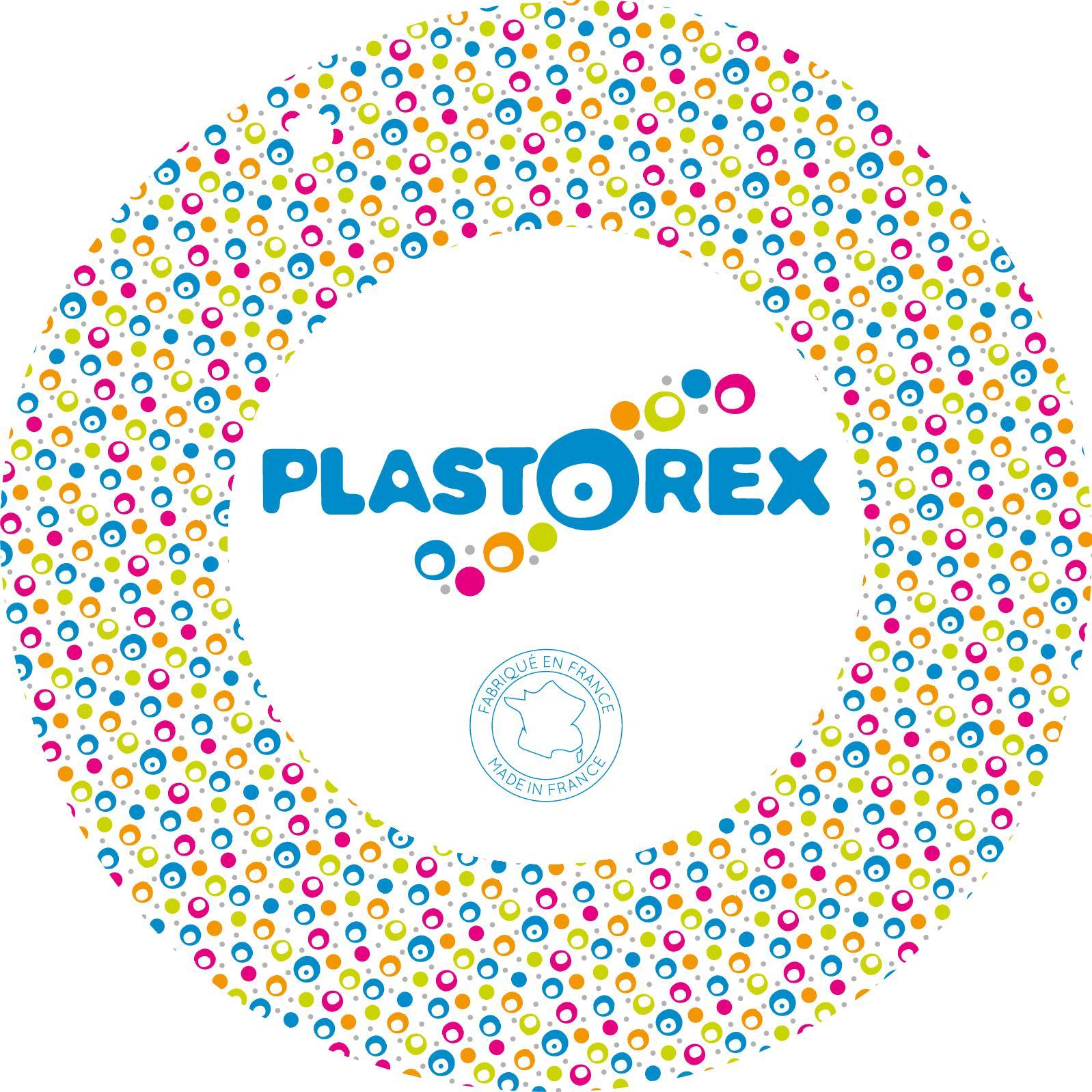Plastorex Bol /à Oreilles M/élamine Blanche d/écor Hippo