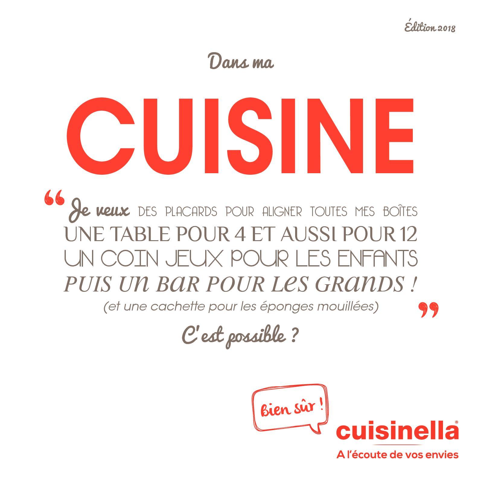 Ma Cuisine Vos Envies calaméo - catalogue cuisine cuisinella 2018
