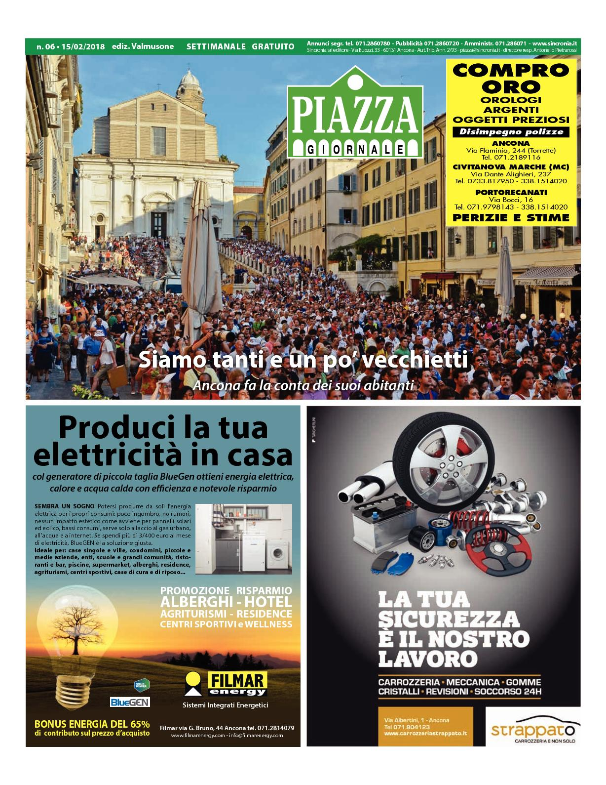 Carbonari Luciano Arredo Bagno.Calameo Piazza Vm06 2018