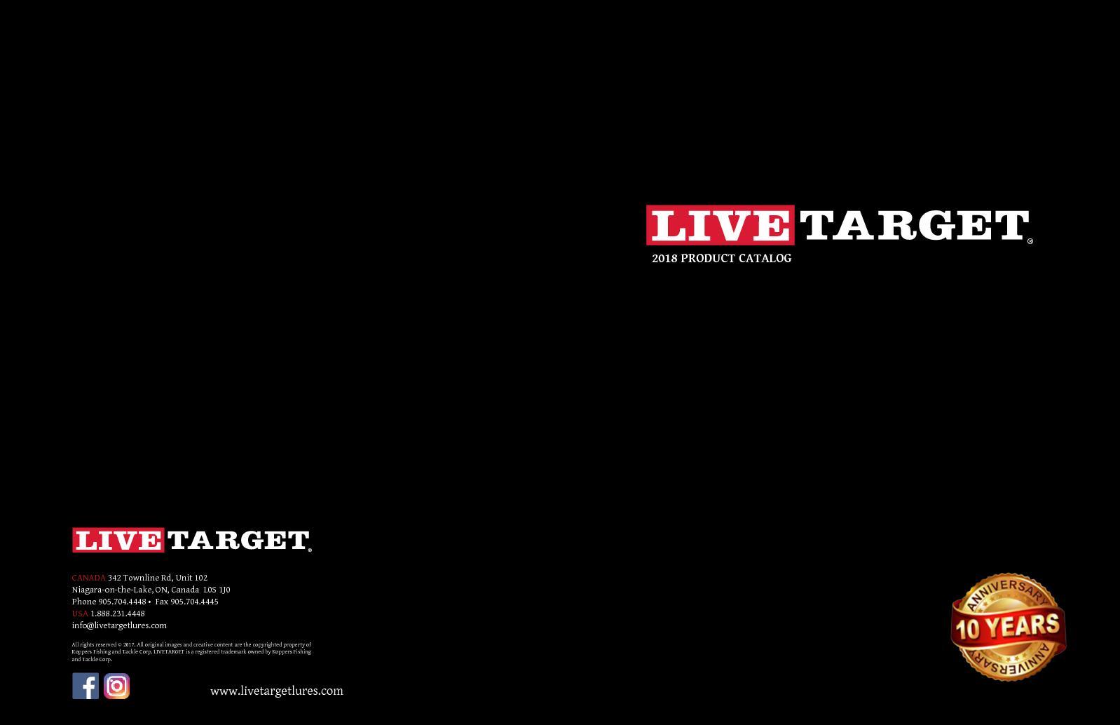 "Live Target Frog Walking Bait 118 Brown Black Topwater Lure 4 5//8/"" FGW118-503"