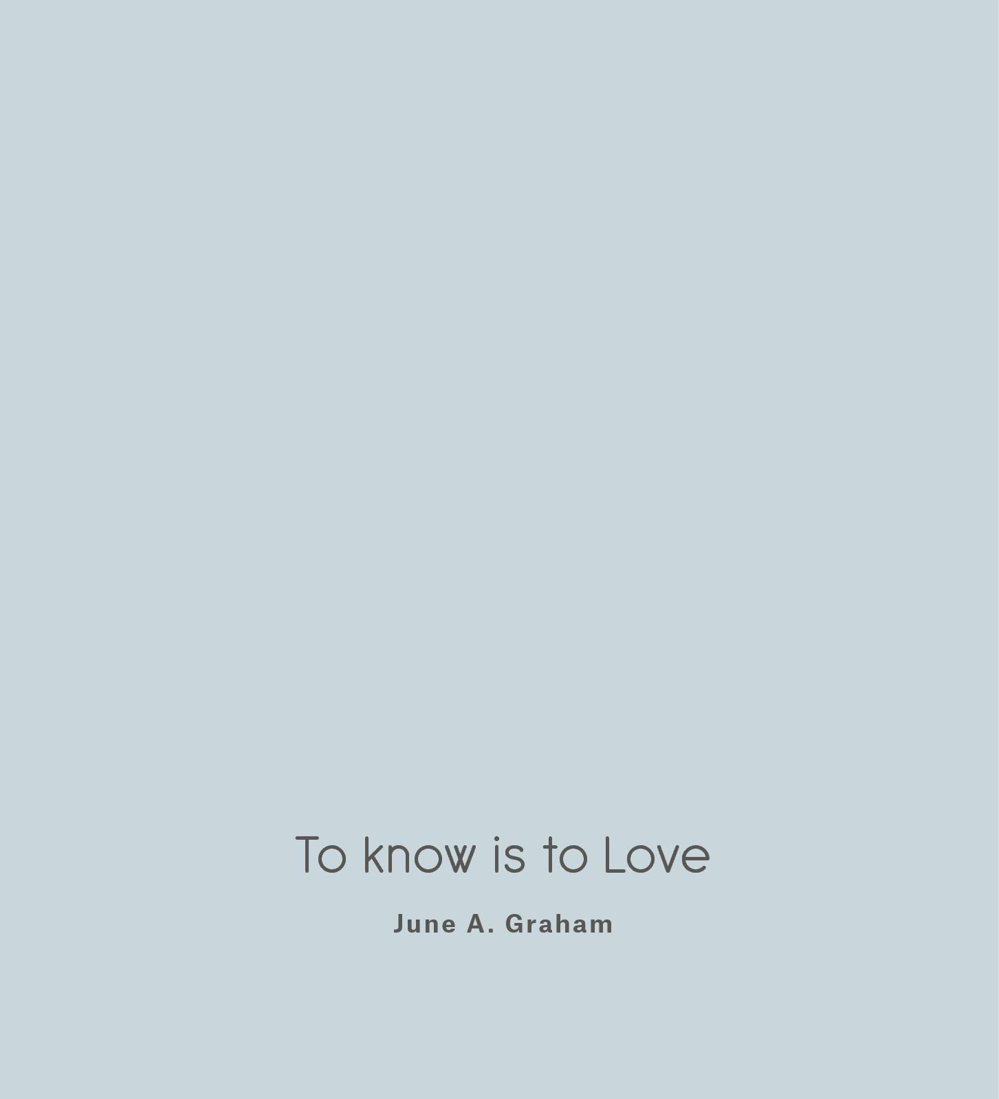 online store 2c186 87a8f Calaméo - To Know Is To Love Definitivo