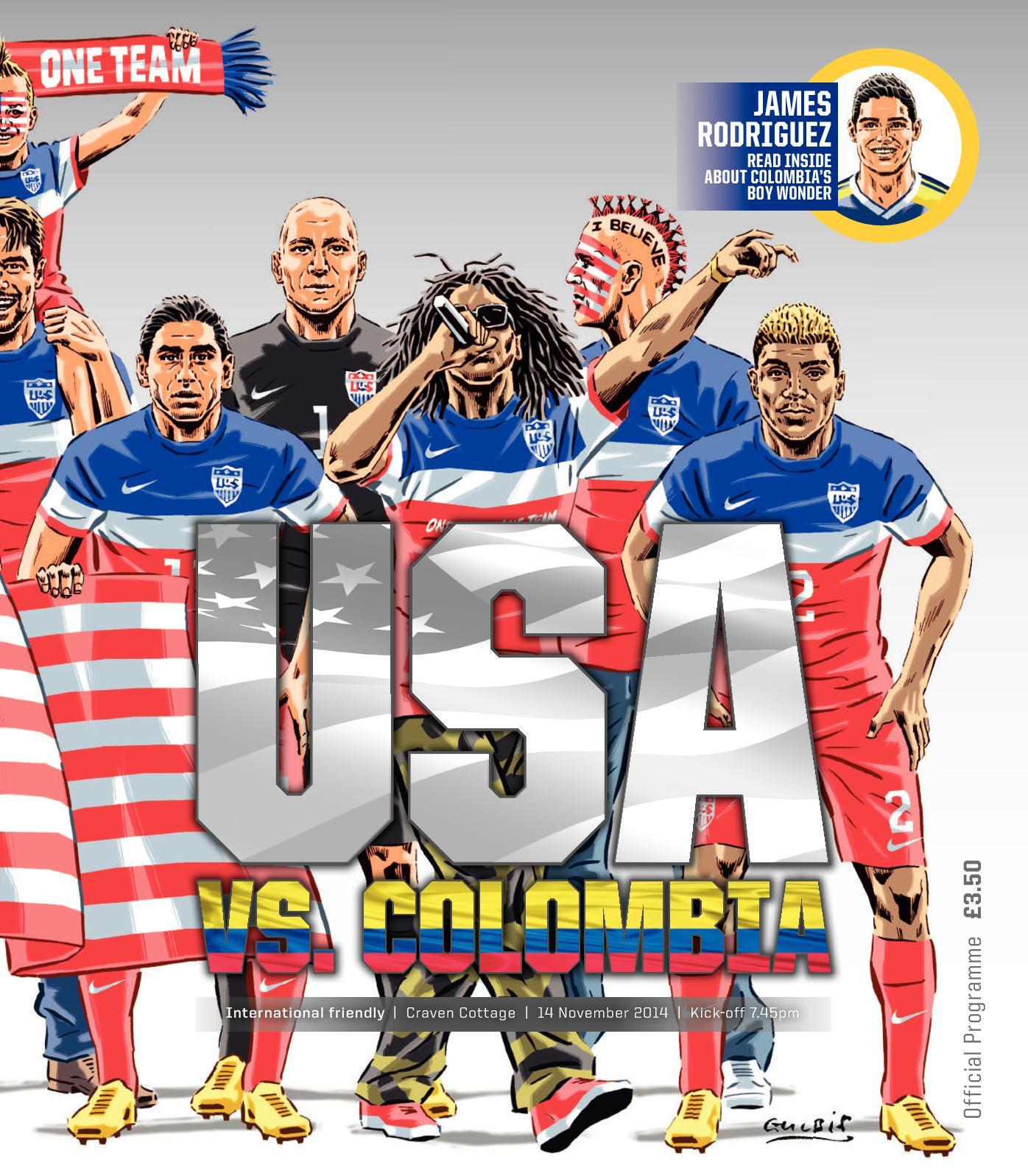 Calaméo - USA v Colombia