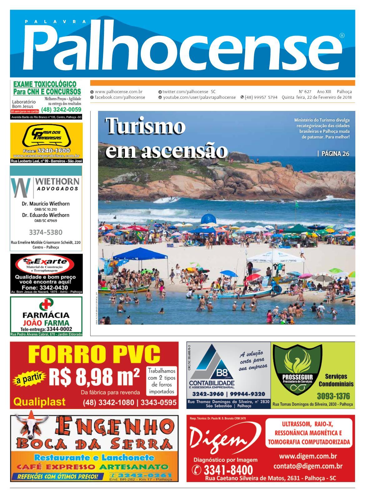 5c9ae55962 Calaméo - JORNAL PALAVRA PALHOCENSE - EDIÇÃO 627