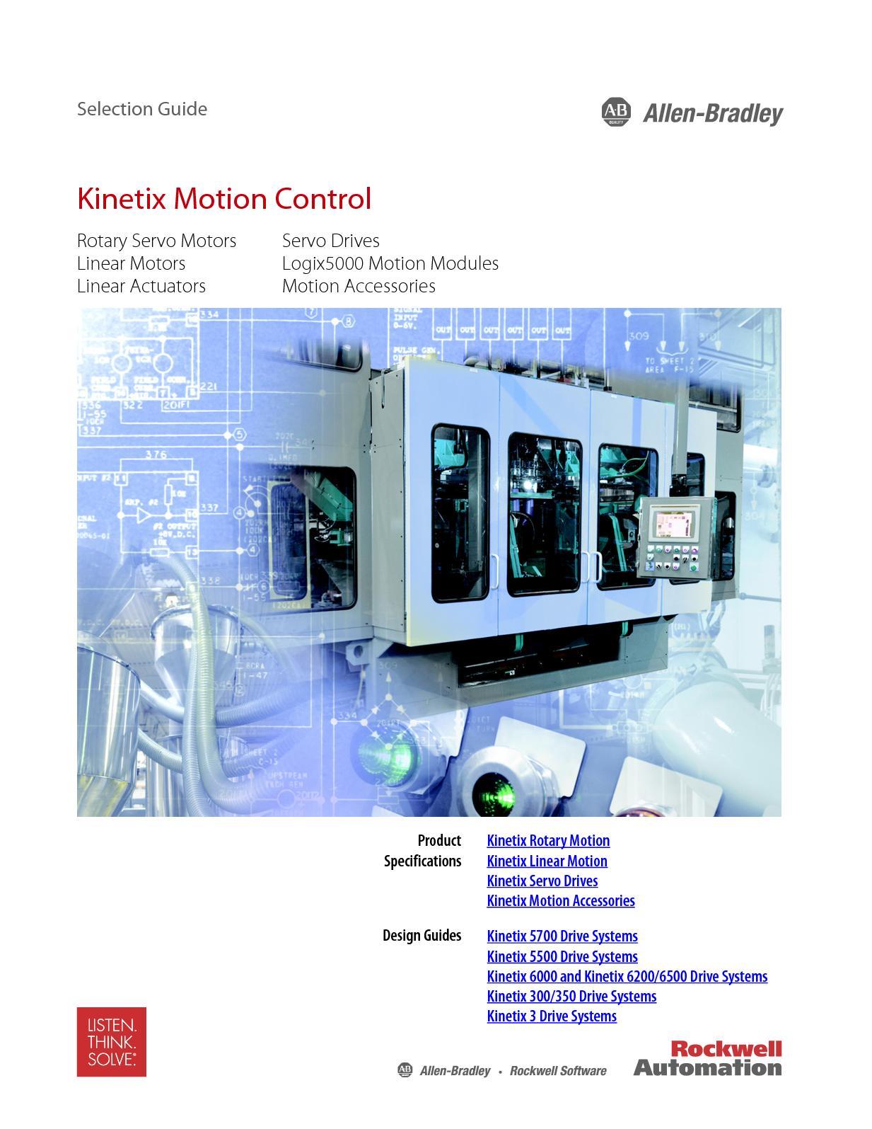 Calaméo - Kinetix Motion Control