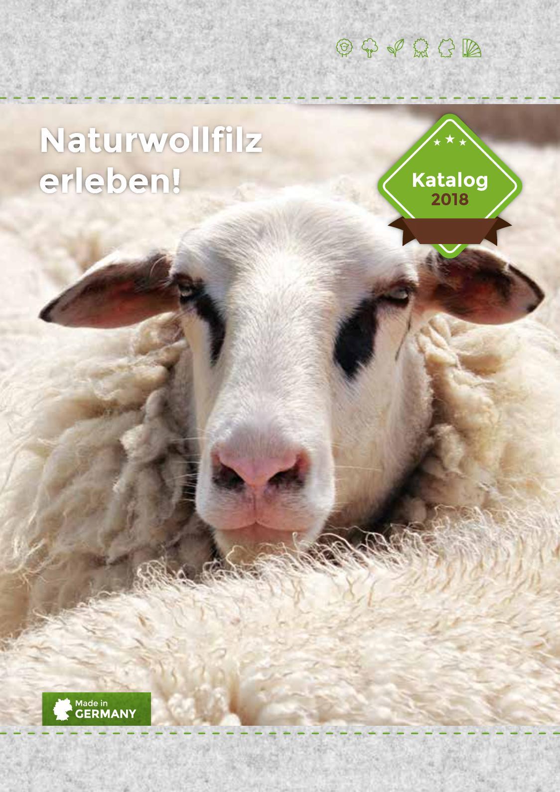 HUBERTUS Nat/ürliches Sitzkissen aus 100/% Schafwollfilz